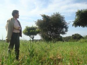 Tom en su campo