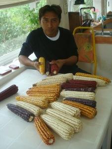 José y el maíz