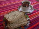 Pan con té
