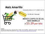 Mexco importa Meiz amarillo a $ 3.29kg